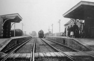 Breamore Station in 1955